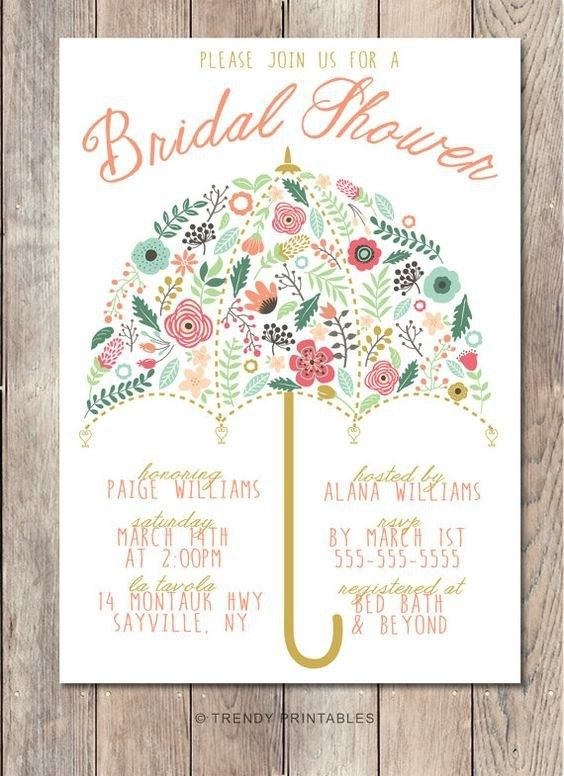 Vista Print Bridal Shower Invitations | christmanista.com