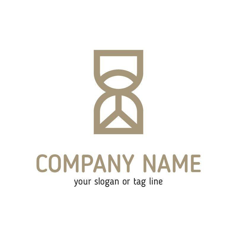 Hourglass Logo Template. Buy Logo Design Template!