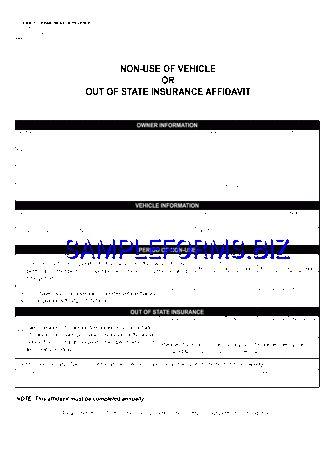 Colorado Affidavit Form templates & samples