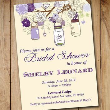 Best Bridal Shower Invitation Templates Products on Wanelo