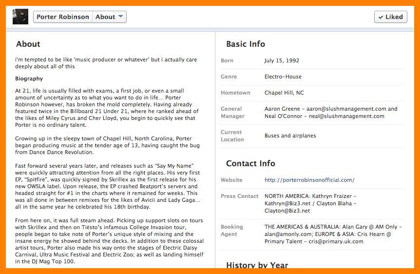 12+ facebook bio example | addressing letter