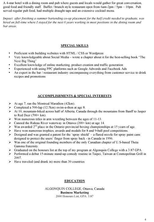 Bar Manager Resume   berathen Com. Bar Manager Job Description  Bar Manager Cv Sample Job Description