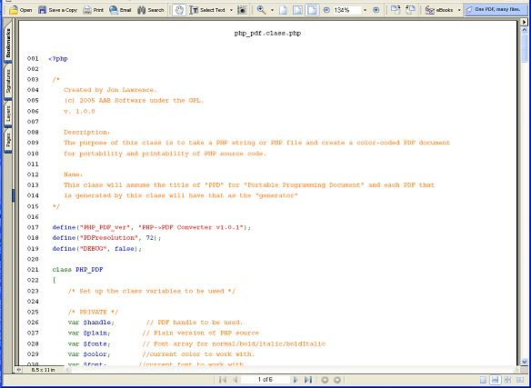 Portable Programming Document: Generate highlighted PDF documents ...