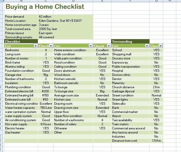 home to do list template