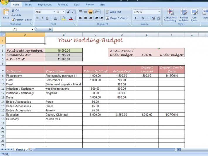 Sample Wedding Planning Checklist. Wedding Planning Checklist ...