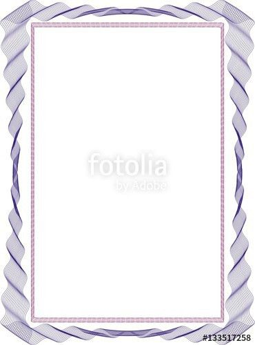 "Frame background blank for diploma certificate"" Stock photo and ..."