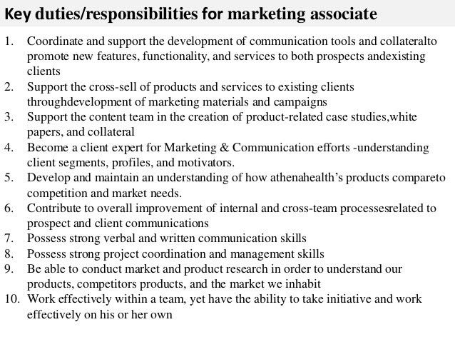 Sales And Marketing Job Description. Sales & Marketing Director ...