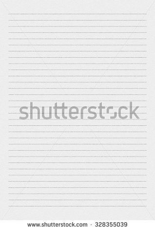 White Paper Lines Notepad Blank Sheet Stock Illustration 328355039 .  Blank Sheet Of Paper With Lines