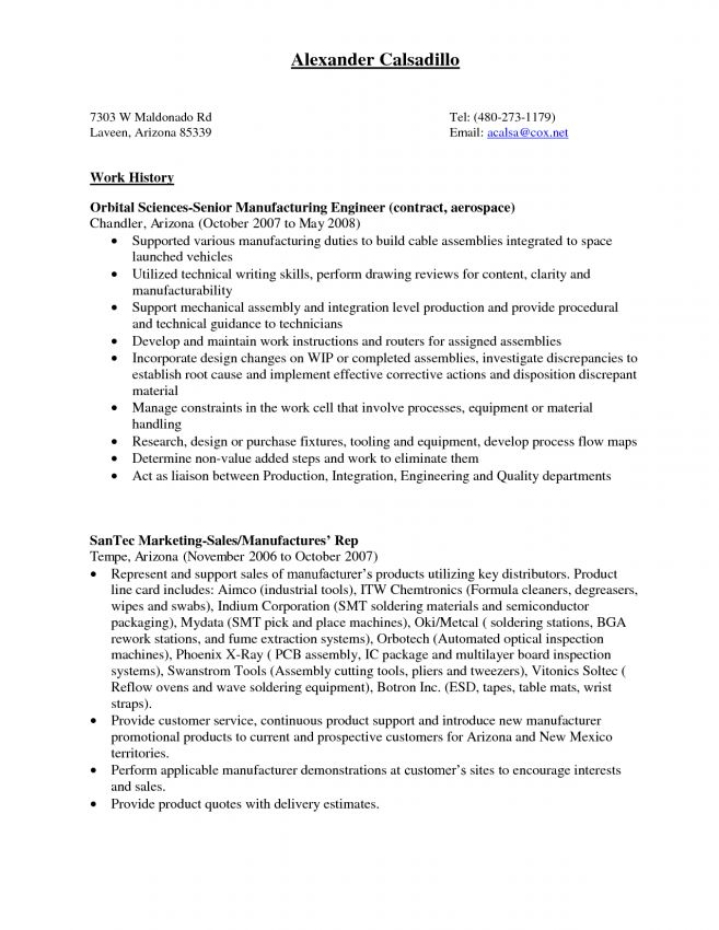 Assembly Line Worker Resume Sample Resume sample resume automotive ...