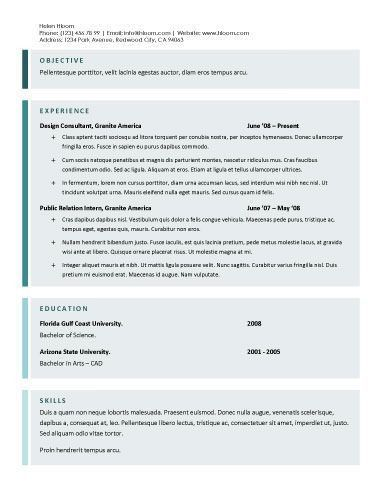 22 best Resumes and Cover Letters images on Pinterest | Resume ...