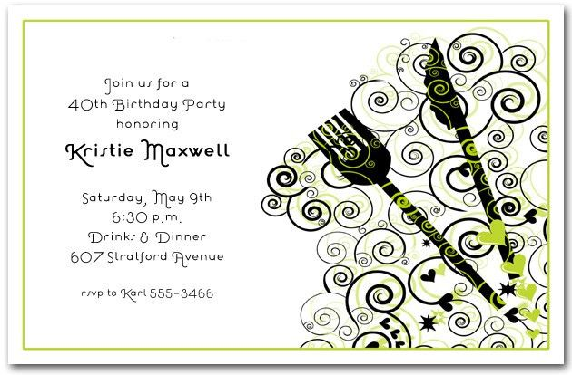 Luncheon Invitation Template - Themesflip.Com