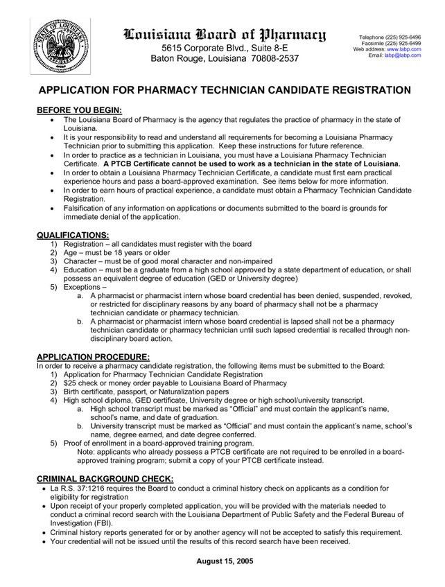 Pharmacy Tech Resume Samples | Free Resume Templates