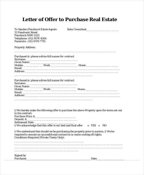 Sales Offer Letter 9 Sales Letter Templates Free Sample Example