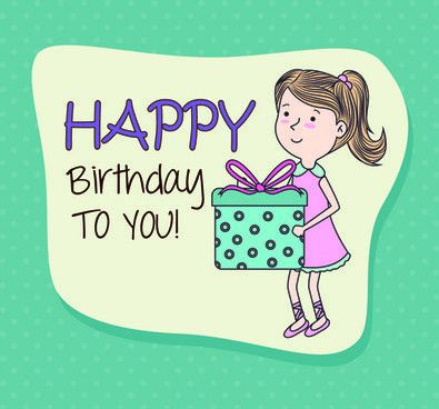 Happy birthday greeting cards free vector download (15,002 Free ...