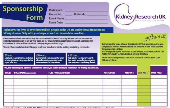 Fundraising Resources | Kidney Research UK - Kidney Research UK ...