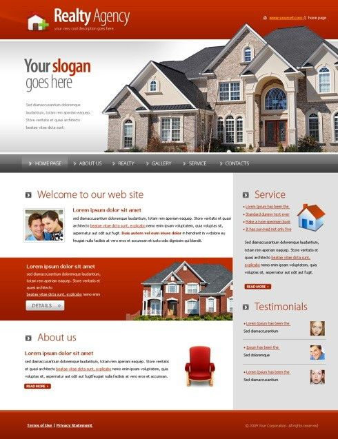 5573 - Real Estate & Building - Website Templates - DreamTemplate