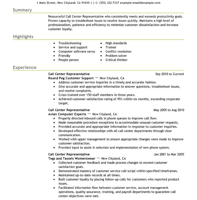 Download Example Of Resume | haadyaooverbayresort.com