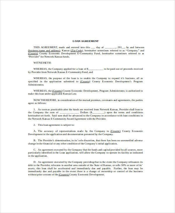 Sample Agreement Form - 36+ Examples in Word, PDF