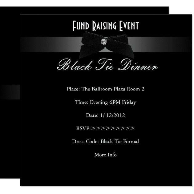 Fundraising Invitations & Announcements | Zazzle