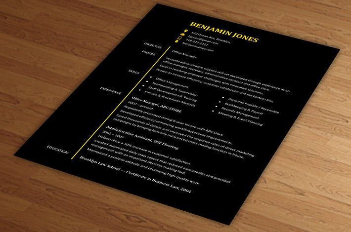 Unique Resume Template. Totally Unique Resume Template | Stand Out ...