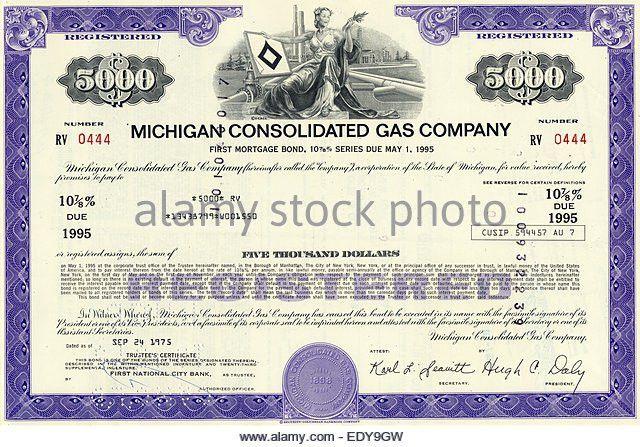 Company Stock Certificate Stock Photos & Company Stock Certificate ...