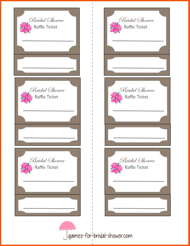 10+ printable tickets template | Survey Template Words