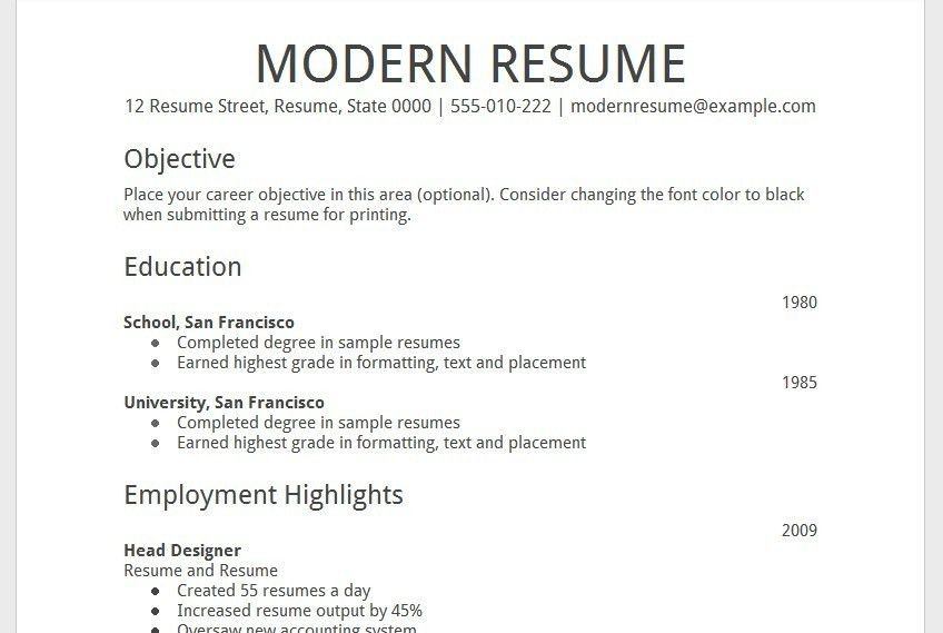 Resume templates google docs use google docs resume templates for google docs resume template haadyaooverbayresort yadclub Choice Image