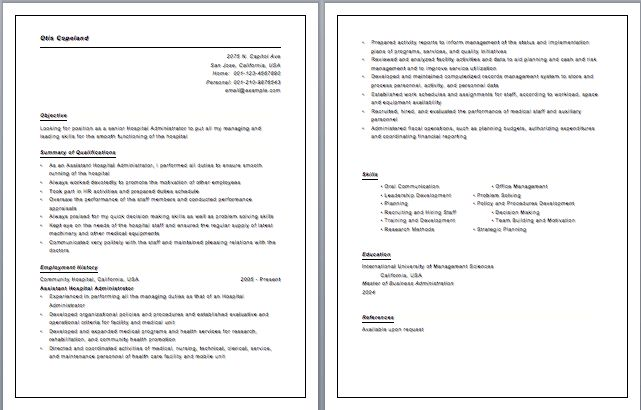 Download Emt Resume Examples | haadyaooverbayresort.com