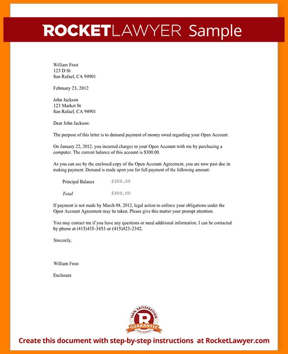 9+ letter of demand example | monthly bills template