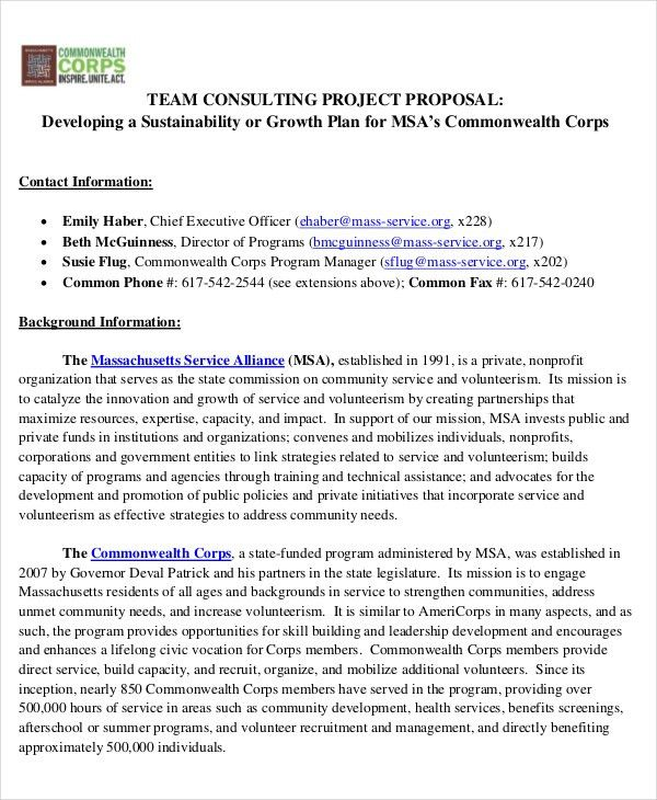 36+ Project Proposal in PDF | Free & Premium Templates