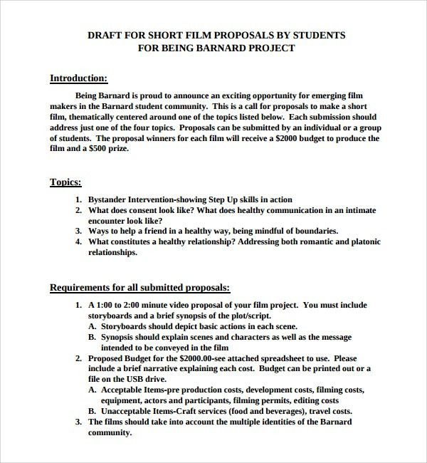 Wedding Proposal Template. Business Proposal Letter Plan Template ...
