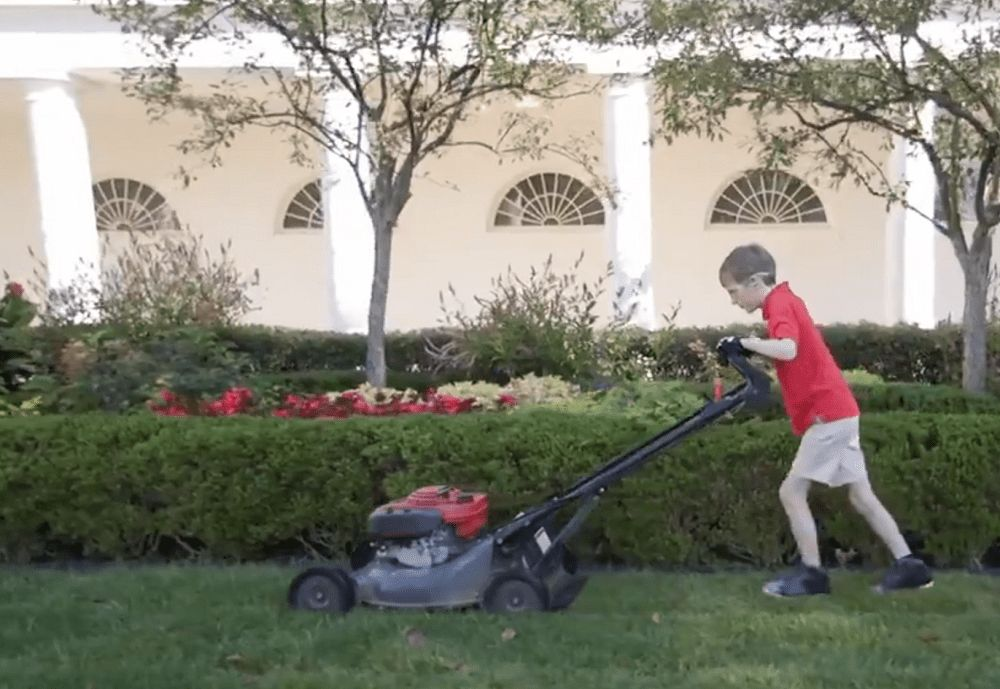 11-Year-Old Mows White House Lawn On Friday – First State Update ...
