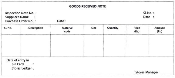 Goods Collection Note Template | Cvletter.csat.co