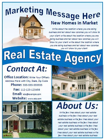 Real Estate Flyer Template | Flyer Designs & Templates
