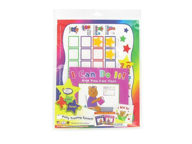 Kenson Kids Potty Training Chart Set - Pink - Walmart.com