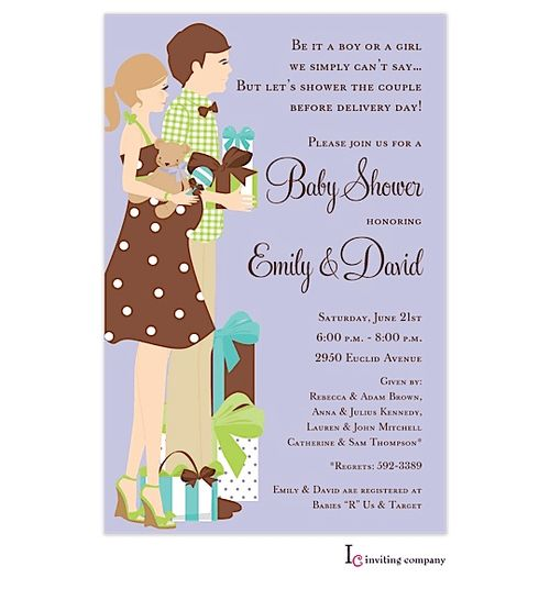 Coed Baby Shower Invitation Wording - plumegiant.Com
