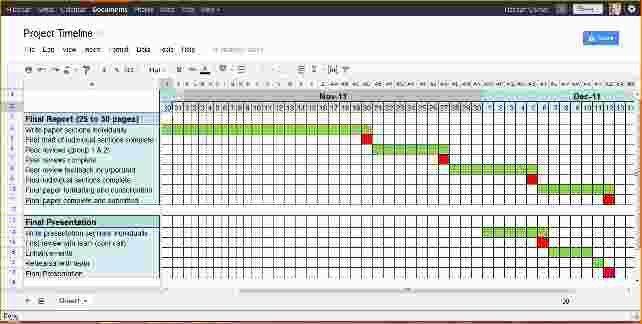 project calendar template excel