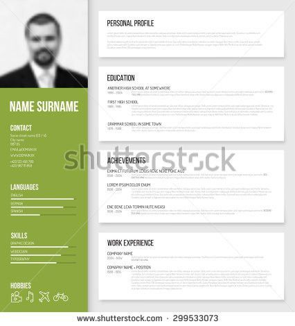 free personal profile templates