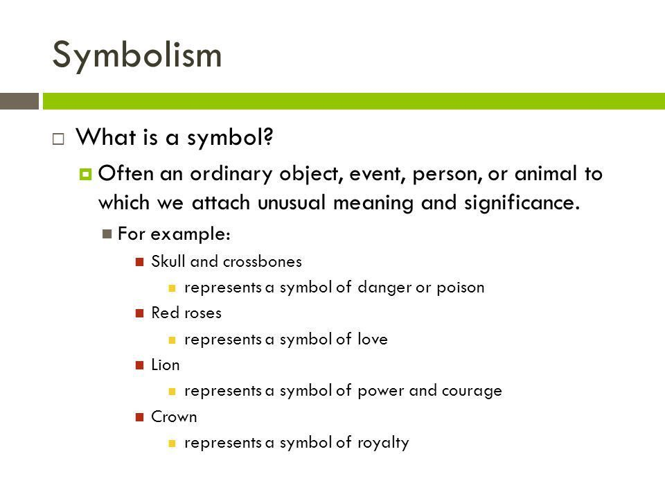 Symbolism and Allegory - ppt video online download