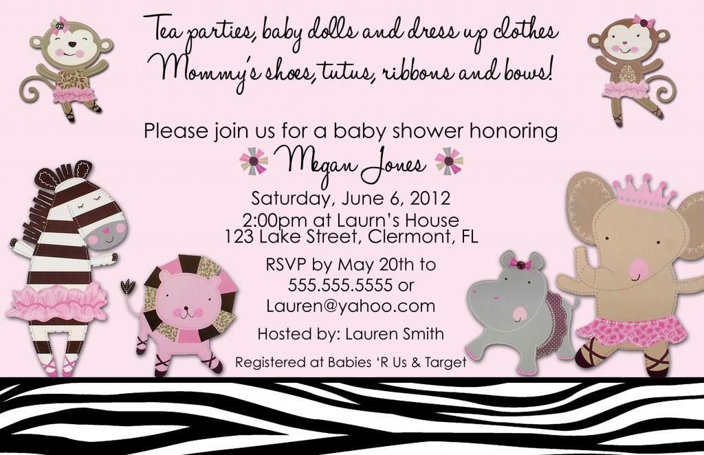 Baby Shower Invitations Girl | THERUNTIME.COM