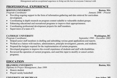 Corporate Travel Coordinator Resume Sample - Reentrycorps