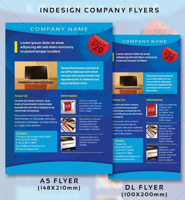 Company Flyers by PeterPap | GraphicRiver