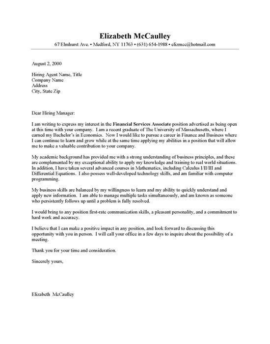 Business Cover Letter Example. Aviation Cover Letter Example 40 ...