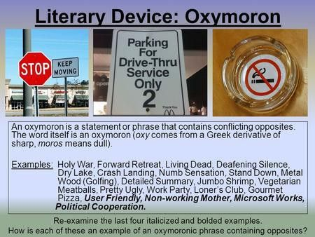 PARADOX? OR OXYMORON?. - ppt download