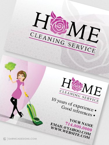Home Cleaning Service - Business card