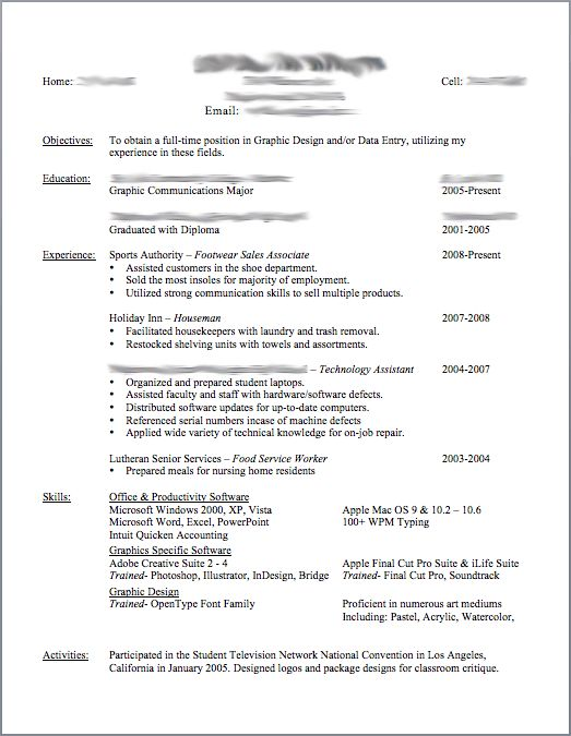 do resumes need an objective resume cv cover letter