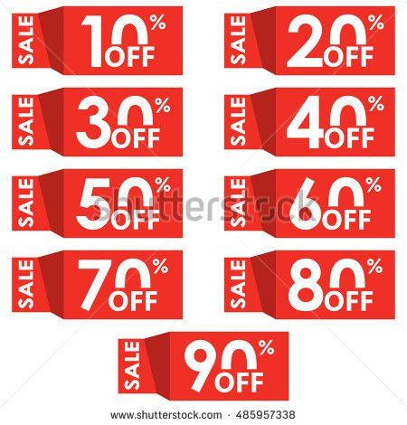 Banner Template Sale Promotion Banner Vector Stock Vector ...
