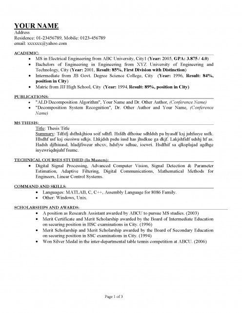 amusing how to make a proper resume 12 templates for resumes is ...