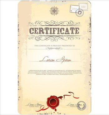 Certificate frame template free vector download (17,150 Free ...