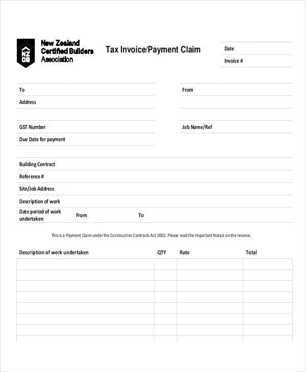 4+ Payment Invoice Examples, Samples